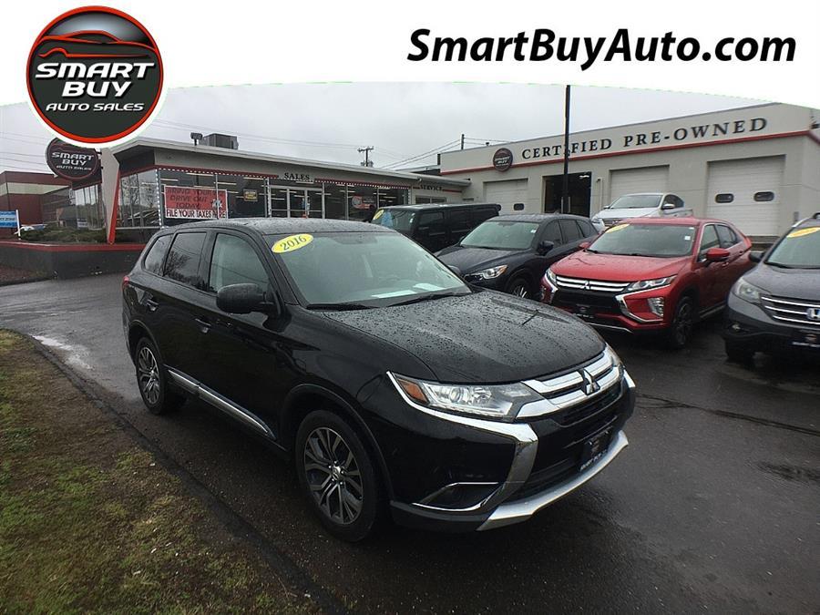 Used Mitsubishi Outlander 4WD 4dr SE 2016 | Smart Buy Auto Sales, LLC. Wallingford, Connecticut