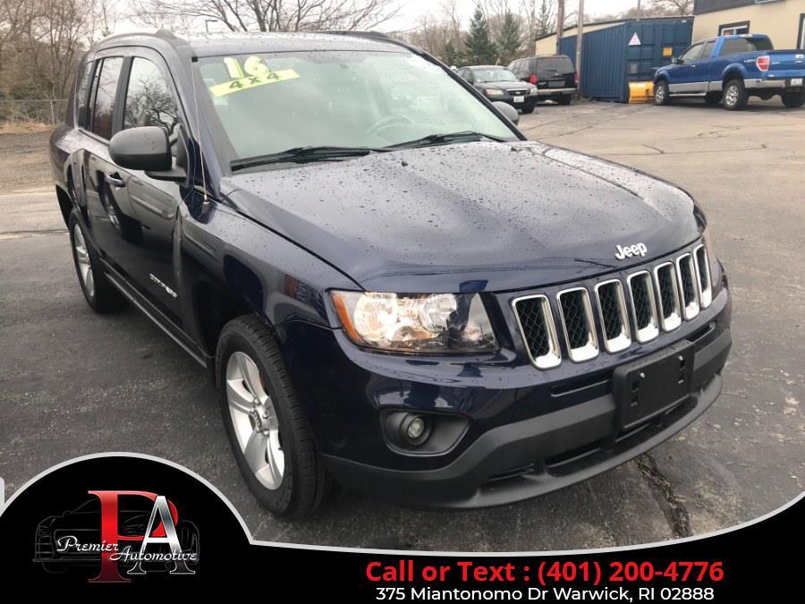 Used 2016 Jeep Compass in Warwick, Rhode Island | Premier Automotive Sales. Warwick, Rhode Island