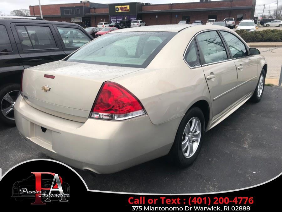 Used Chevrolet Impala 4dr Sdn LS Fleet 2012 | Premier Automotive Sales. Warwick, Rhode Island