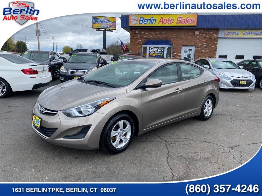 Used 2014 Hyundai Elantra in Berlin, Connecticut | Berlin Auto Sales LLC. Berlin, Connecticut
