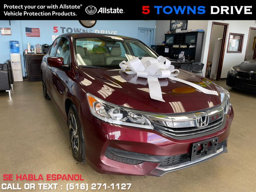 Used Honda Accord Sedan 4dr I4 CVT LX 2016 | 5 Towns Drive. Inwood, New York
