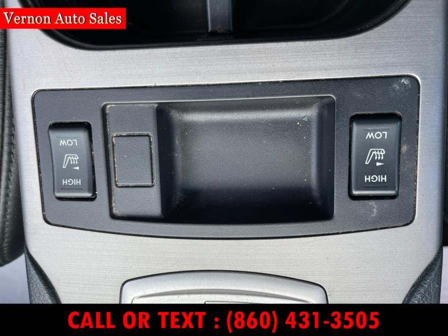 Used Subaru Outback 4dr Wgn H4 Auto 2.5i Ltd Pwr Moon 2010 | Vernon Auto Sale & Service. Manchester, Connecticut