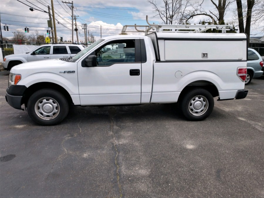 Used 2014 Ford F-150 / CAP / LADDER RACK in COPIAGUE, New York | Warwick Auto Sales Inc. COPIAGUE, New York