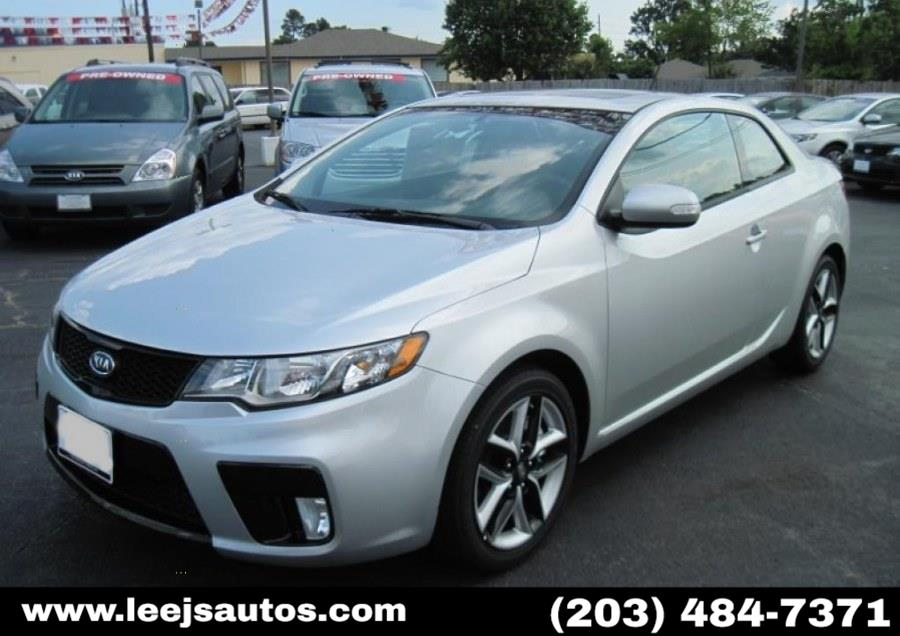 Used 2013 Kia Forte Koup in North Branford, Connecticut | LeeJ's Auto Sales & Service. North Branford, Connecticut