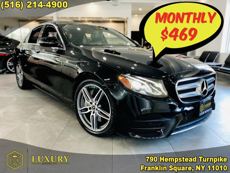Used Mercedes-Benz E-Class E 300 4MATIC Sedan 2018 | Luxury Motor Club. Franklin Square, New York