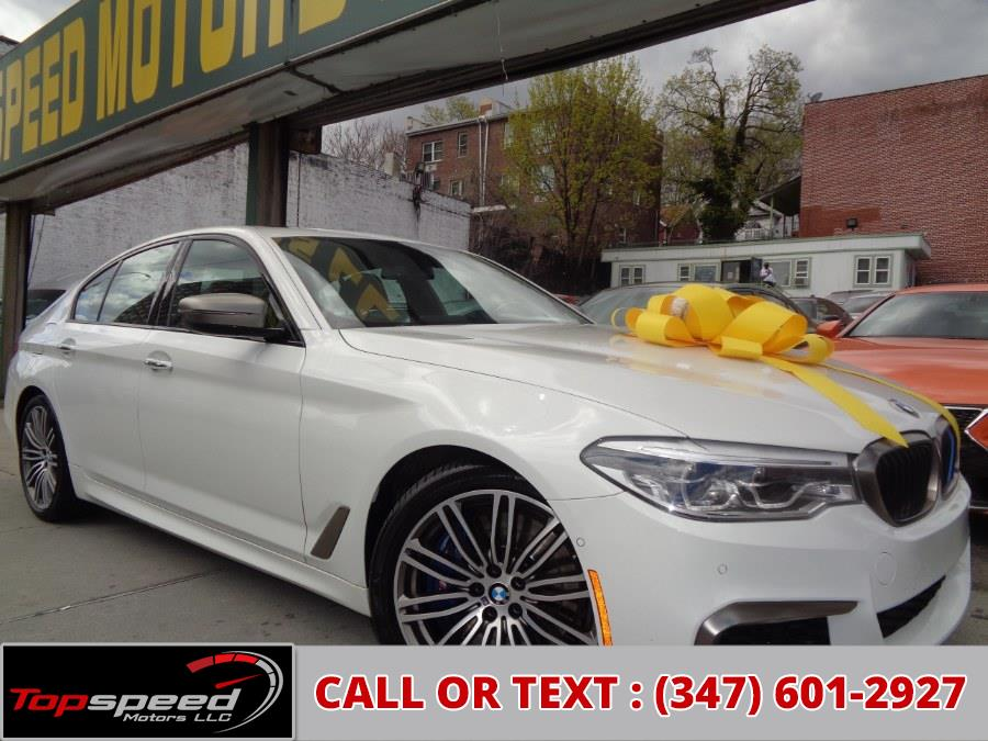 Used 2018 BMW M550i in Jamaica, New York | Top Speed Motors LLC. Jamaica, New York