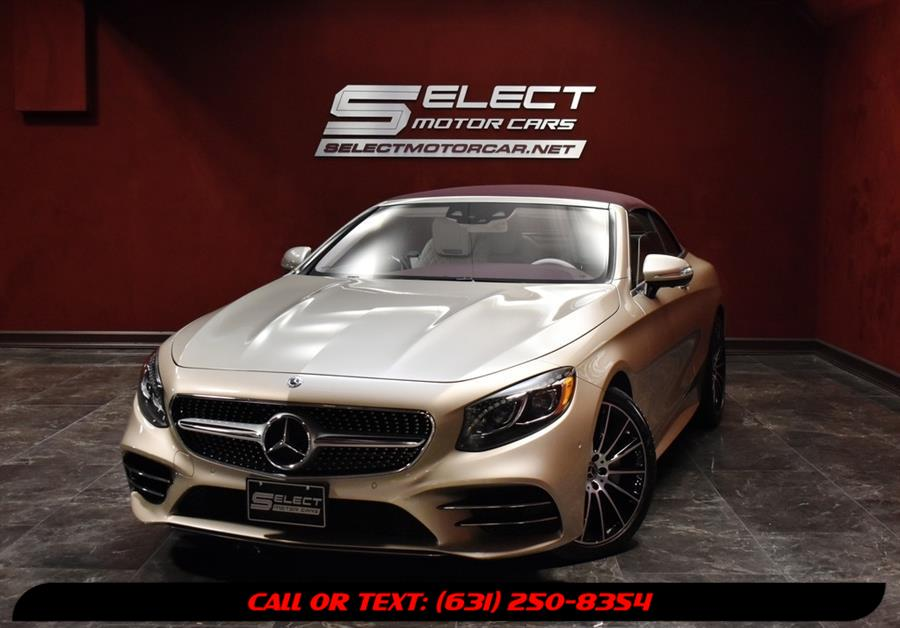 Used 2019 Mercedes-benz S-class in Deer Park, New York | Select Motor Cars. Deer Park, New York