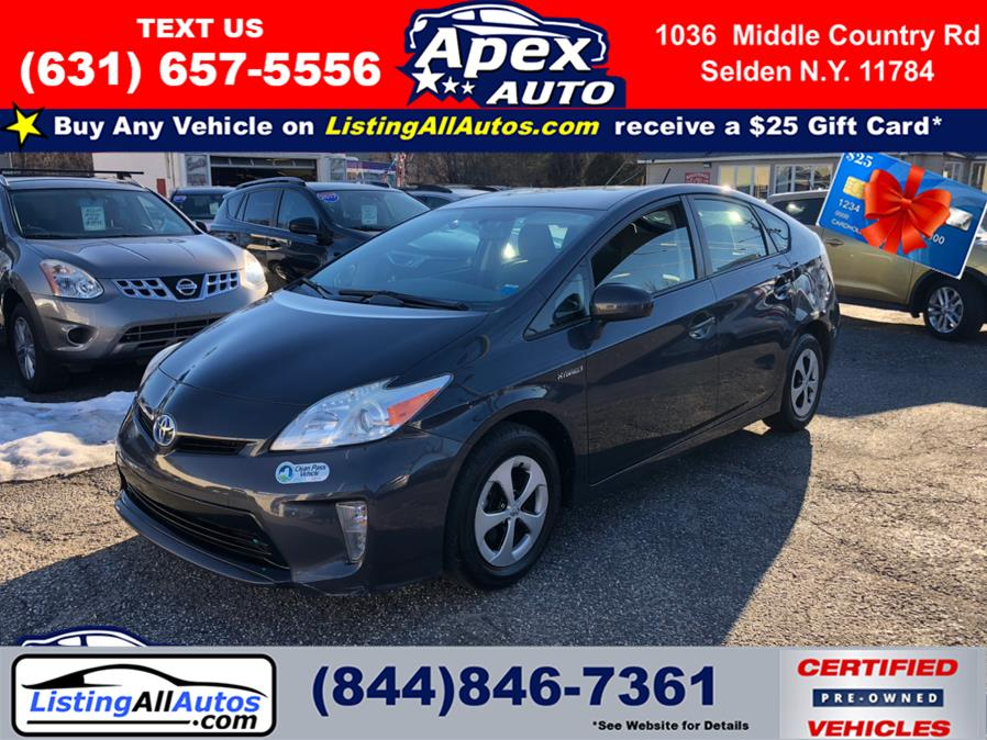 Used Toyota Prius 5dr HB Two (Natl) 2013 | www.ListingAllAutos.com. Patchogue, New York