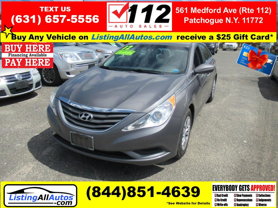 Used 2012 Hyundai Sonata in Patchogue, New York | www.ListingAllAutos.com. Patchogue, New York