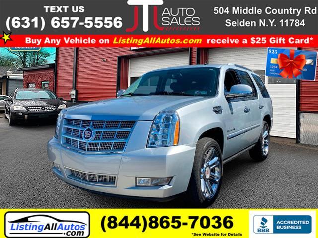 Used Cadillac Escalade AWD 4dr Platinum Edition 2012 | www.ListingAllAutos.com. Patchogue, New York