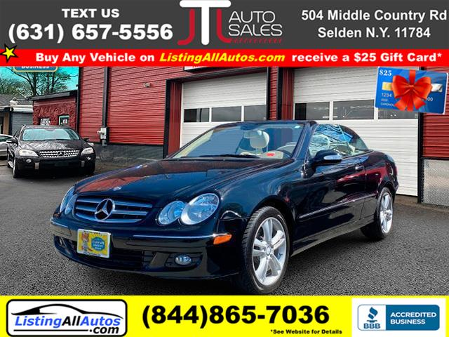 Used 2008 Mercedes-benz Clk-class in Patchogue, New York | www.ListingAllAutos.com. Patchogue, New York