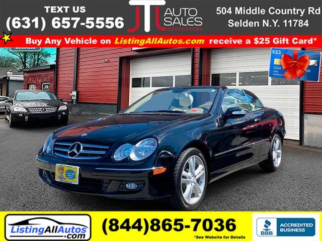 Used Mercedes-benz Clk-class CLK350 Cabriolet 2008 | www.ListingAllAutos.com. Patchogue, New York