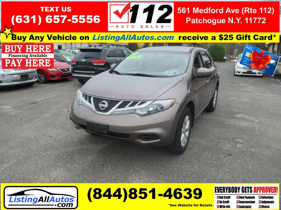 Used Nissan Murano 2WD 4dr S 2012 | www.ListingAllAutos.com. Patchogue, New York