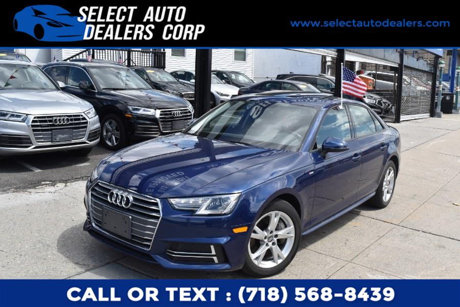 Used Audi A4 2.0 TFSI Premium S Tronic quattro AWD 2018   Select Auto Dealers Corp. Brooklyn, New York