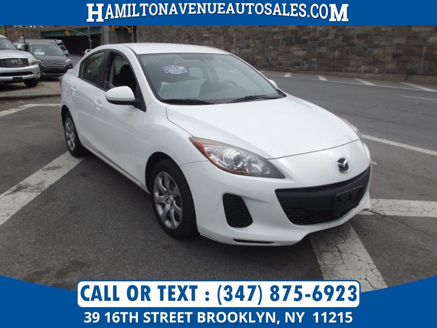 Used Mazda Mazda3 4dr Sdn Auto i SV 2013   Hamilton Avenue Auto Sales DBA Nyautoauction.com. Brooklyn, New York