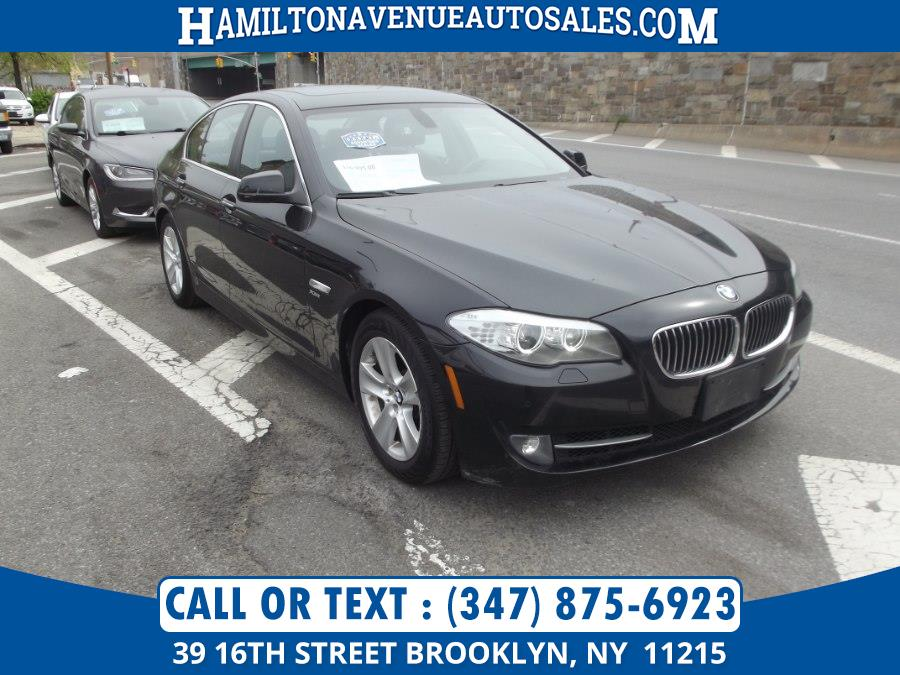 Used BMW 5 Series 4dr Sdn 528i xDrive AWD 2012 | Hamilton Avenue Auto Sales DBA Nyautoauction.com. Brooklyn, New York
