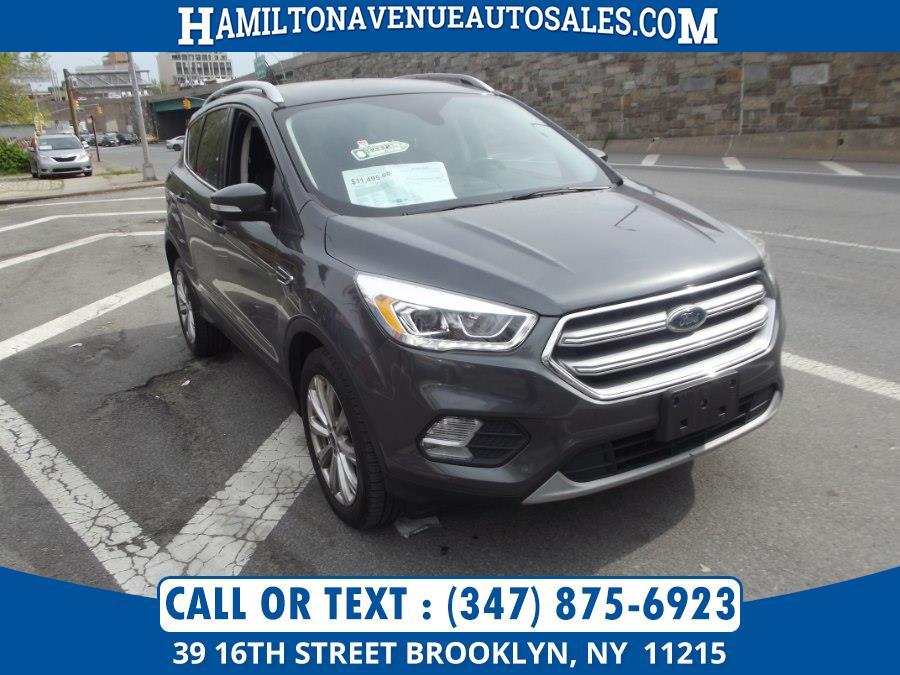 Used Ford Escape Titanium 4WD 2017 | Hamilton Avenue Auto Sales DBA Nyautoauction.com. Brooklyn, New York