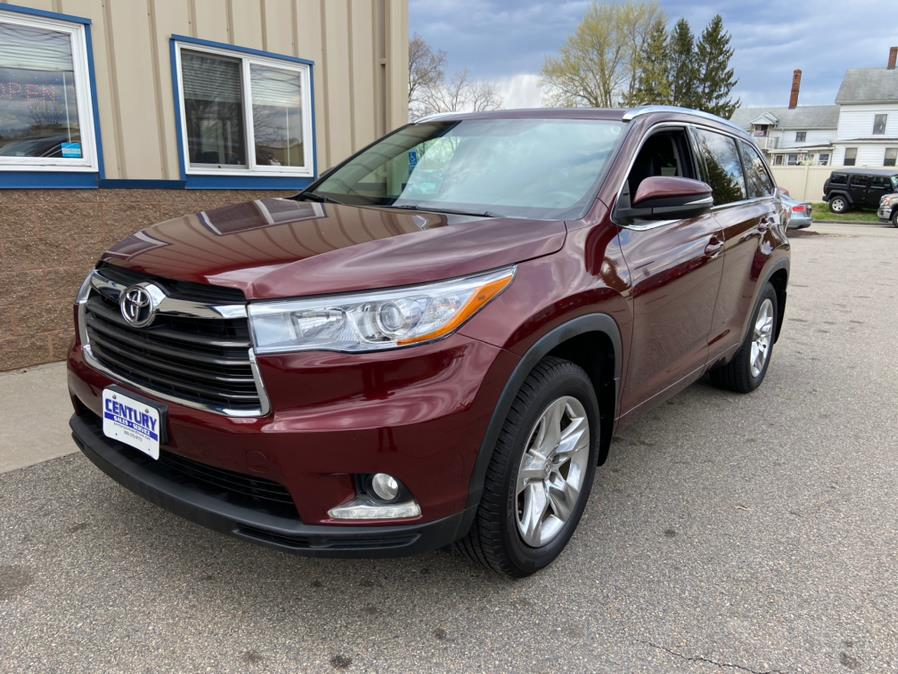 Used Toyota Highlander AWD 4dr V6 Limited (Natl) 2014 | Century Auto And Truck. East Windsor, Connecticut