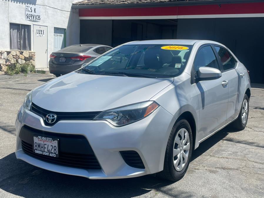 Used 2016 Toyota Corolla in Corona, California | Green Light Auto. Corona, California