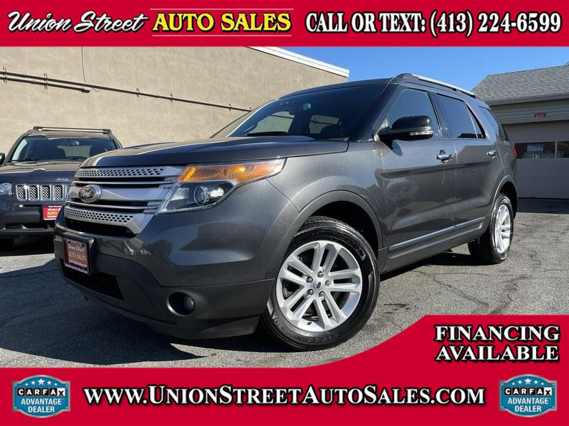 Used Ford Explorer 4WD 4dr XLT 2015 | Union Street Auto Sales. West Springfield, Massachusetts