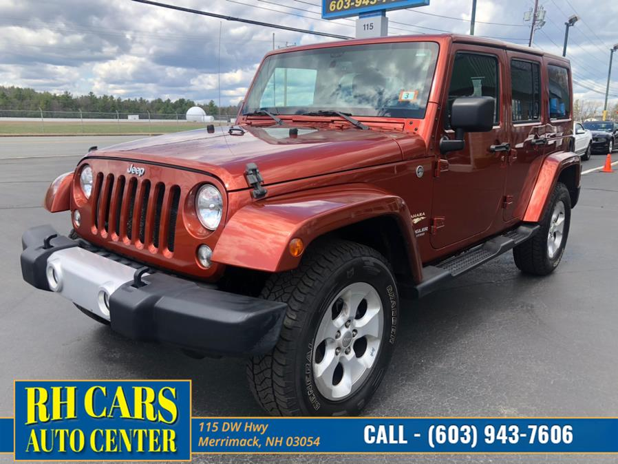 Used Jeep Wrangler Unlimited Sahara 4WD 2014 | RH Cars LLC. Merrimack, New Hampshire