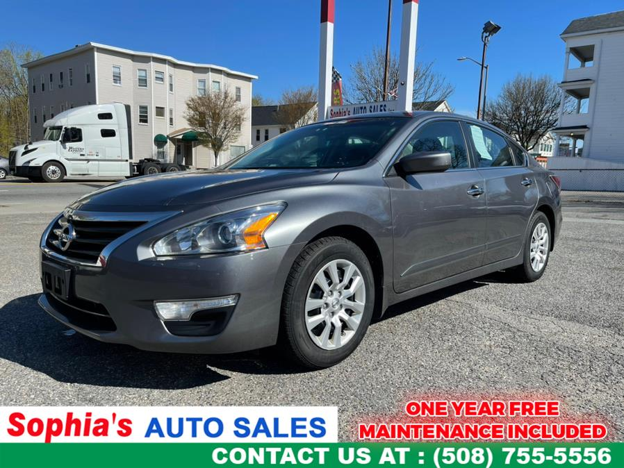 Used 2015 Nissan Altima in Worcester, Massachusetts | Sophia's Auto Sales Inc. Worcester, Massachusetts