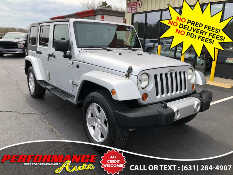 Used 2009 Jeep Wrangler Unlimited in Bohemia, New York | Performance Auto Inc. Bohemia, New York