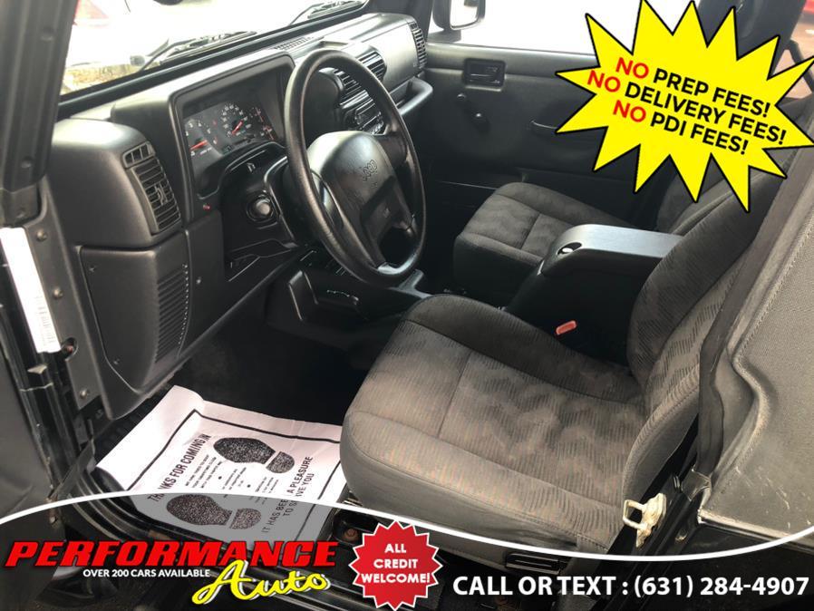 Used Jeep Wrangler 2dr X 2003   Performance Auto Inc. Bohemia, New York
