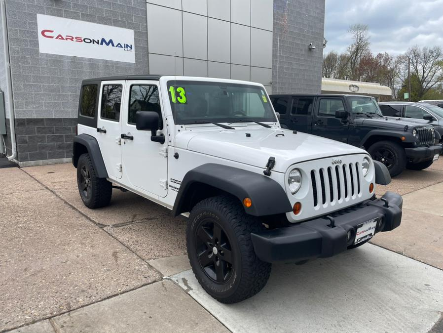 Used 2013 Jeep Wrangler Unlimited in Manchester, Connecticut | Carsonmain LLC. Manchester, Connecticut