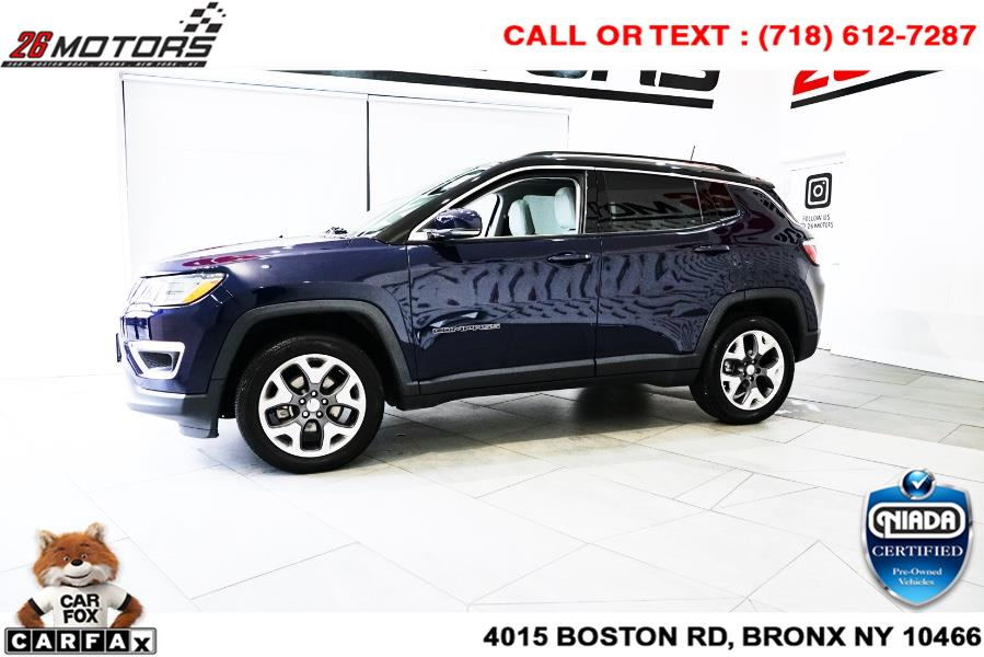 Used Jeep Compass Limited 4x4 2018 | 26 Motors Corp. Bronx, New York