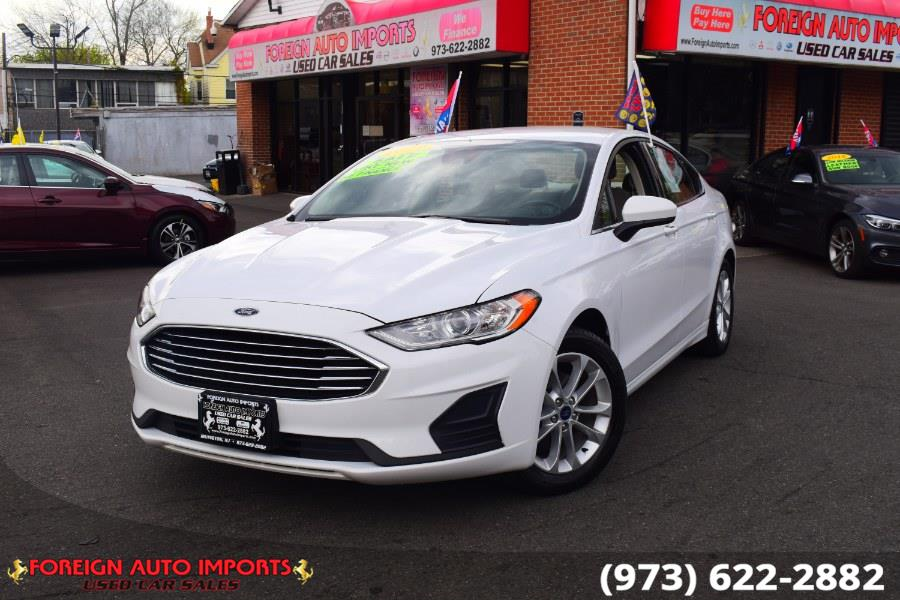 Used Ford Fusion SE FWD 2019 | Foreign Auto Imports. Irvington, New Jersey