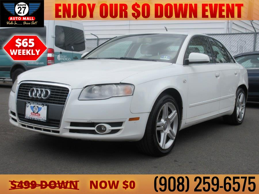 Used 2007 Audi A4 in Linden, New Jersey | Route 27 Auto Mall. Linden, New Jersey