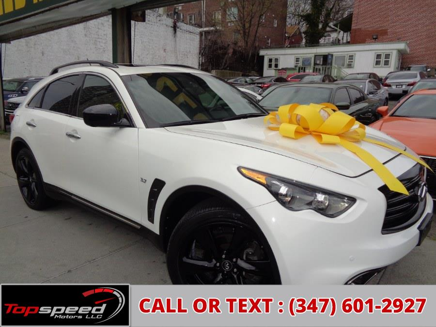 Used 2016 INFINITI QX70S in Jamaica, New York | Top Speed Motors LLC. Jamaica, New York