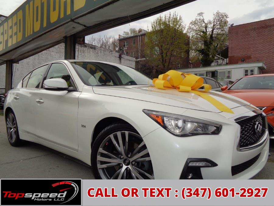 Used 2018 INFINITI Q50 in Jamaica, New York | Top Speed Motors LLC. Jamaica, New York
