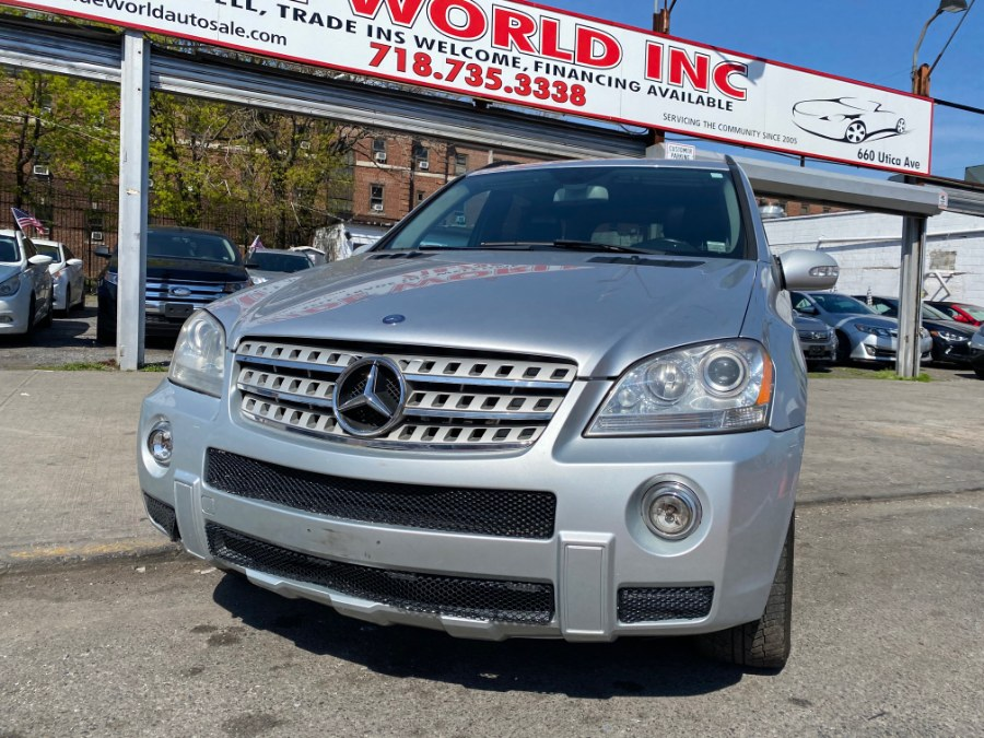 Used Mercedes-Benz M-Class 4MATIC 4dr 5.5L 2008 | Wide World Inc. Brooklyn, New York