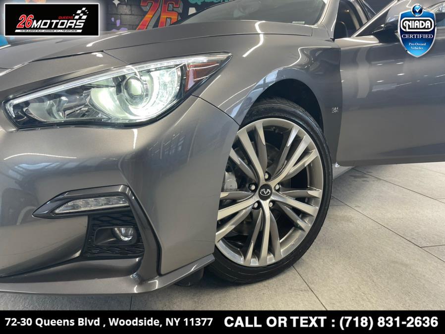 Used INFINITI Q50 3.0t LUXE AWD 2018 | 26 Motors Queens. Woodside, New York