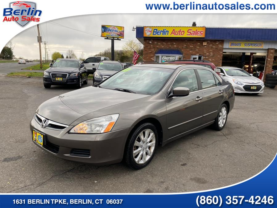 Used 2006 Honda Accord Sdn in Berlin, Connecticut | Berlin Auto Sales LLC. Berlin, Connecticut
