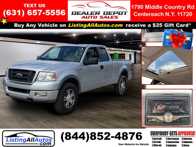 "Used Ford F-150 Supercab 133"" XLT 4WD 2004 