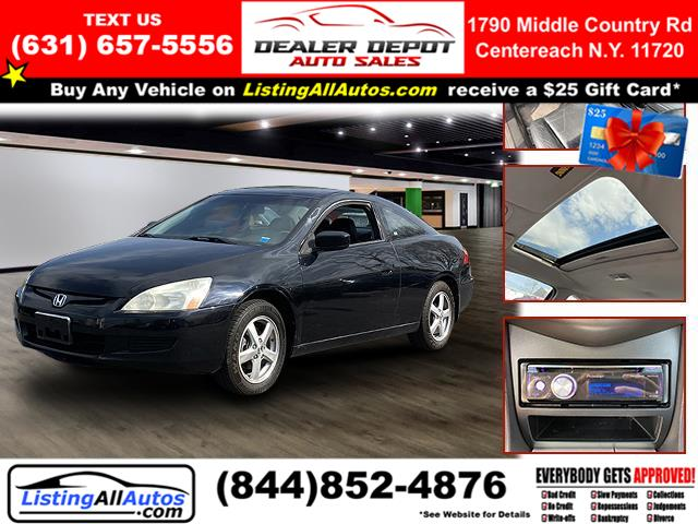Used 2004 Honda Accord Coupe in Patchogue, New York | www.ListingAllAutos.com. Patchogue, New York