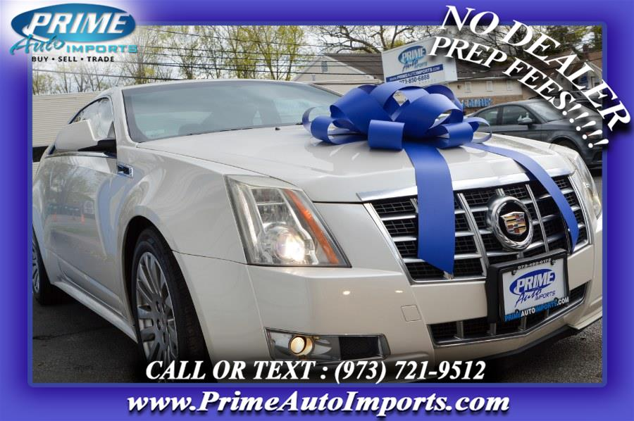 Used Cadillac CTS Coupe 2dr Cpe Performance RWD 2012 | Prime Auto Imports. Bloomingdale, New Jersey
