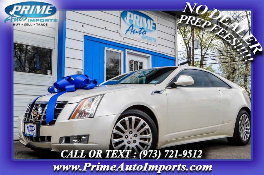 Used 2012 Cadillac CTS Coupe in Bloomingdale, New Jersey | Prime Auto Imports. Bloomingdale, New Jersey