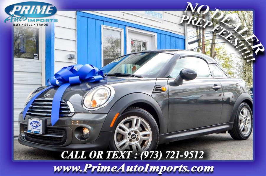 Used 2012 MINI Cooper Coupe in Bloomingdale, New Jersey | Prime Auto Imports. Bloomingdale, New Jersey