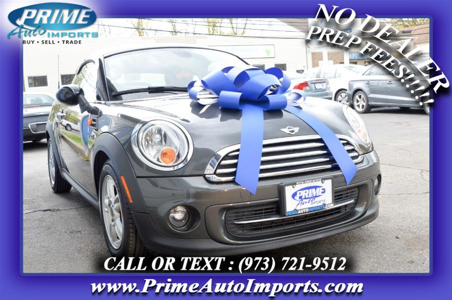Used MINI Cooper Coupe 2dr 2012 | Prime Auto Imports. Bloomingdale, New Jersey