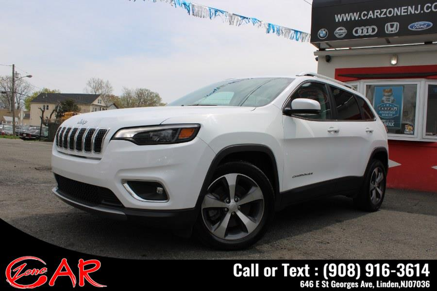 Used Jeep Cherokee Limited AWD 2020   Car Zone. Linden, New Jersey