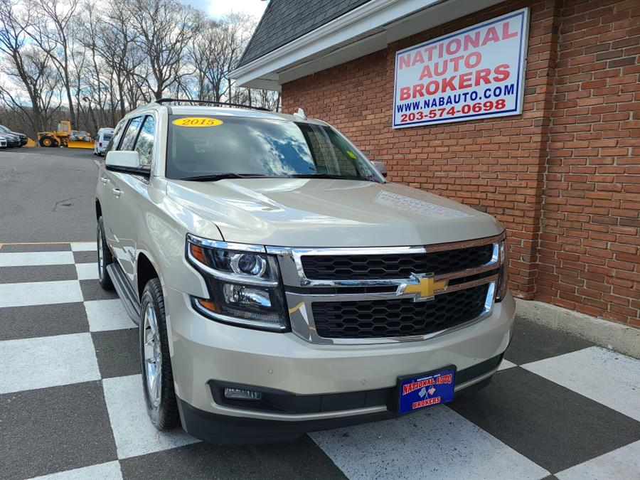 Used 2015 Chevrolet Tahoe in Waterbury, Connecticut | National Auto Brokers, Inc.. Waterbury, Connecticut