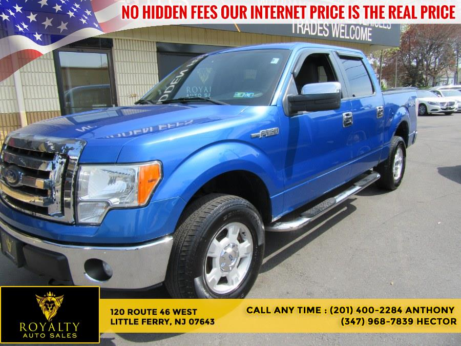 """Used Ford F-150 4WD SuperCrew 157"""" XLT 2012 