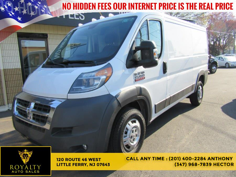 Used 2016 Ram ProMaster Cargo Van in Little Ferry, New Jersey | Royalty Auto Sales. Little Ferry, New Jersey