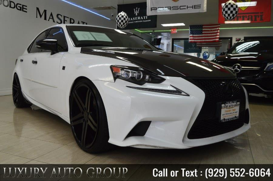 Used Lexus IS 250 4dr Sport Sdn Crafted Line AWD 2015 | Luxury Auto Group. Bronx, New York