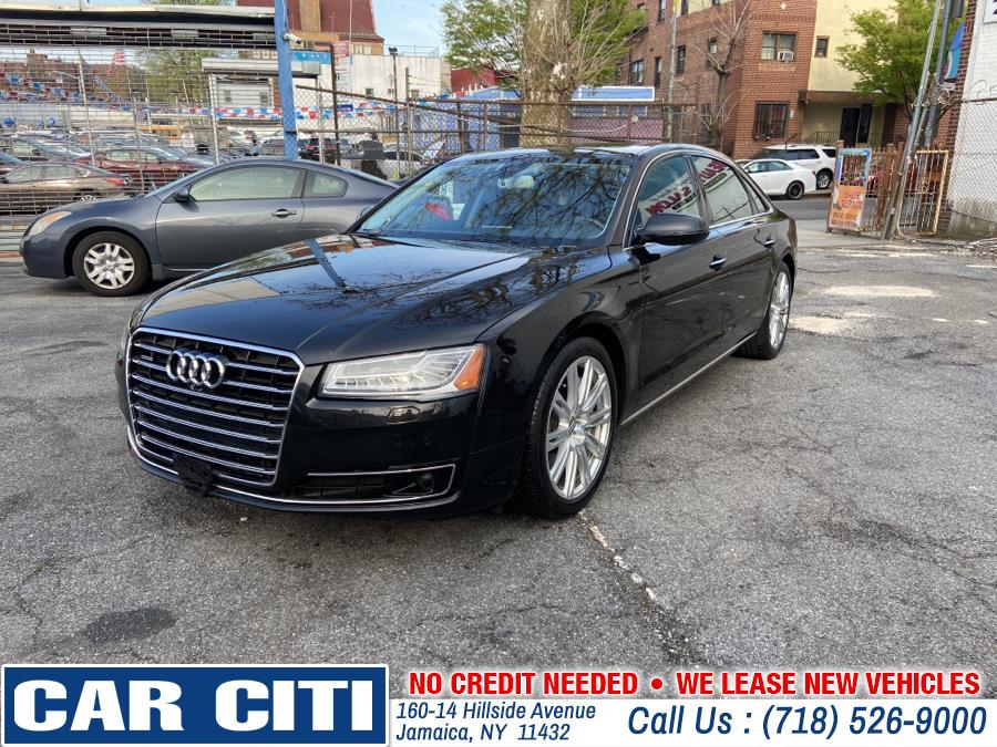 Used 2015 Audi A8 L in Jamaica, New York | Car Citi. Jamaica, New York