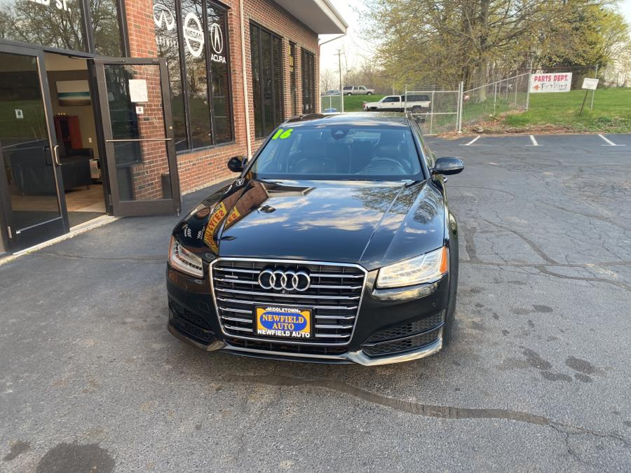 Used 2016 Audi A8 L in Middletown, Connecticut | Newfield Auto Sales. Middletown, Connecticut